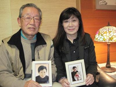 グローバルケアの葬儀をご利用いただいたお客様からの声:奥村嘉朗様(左)