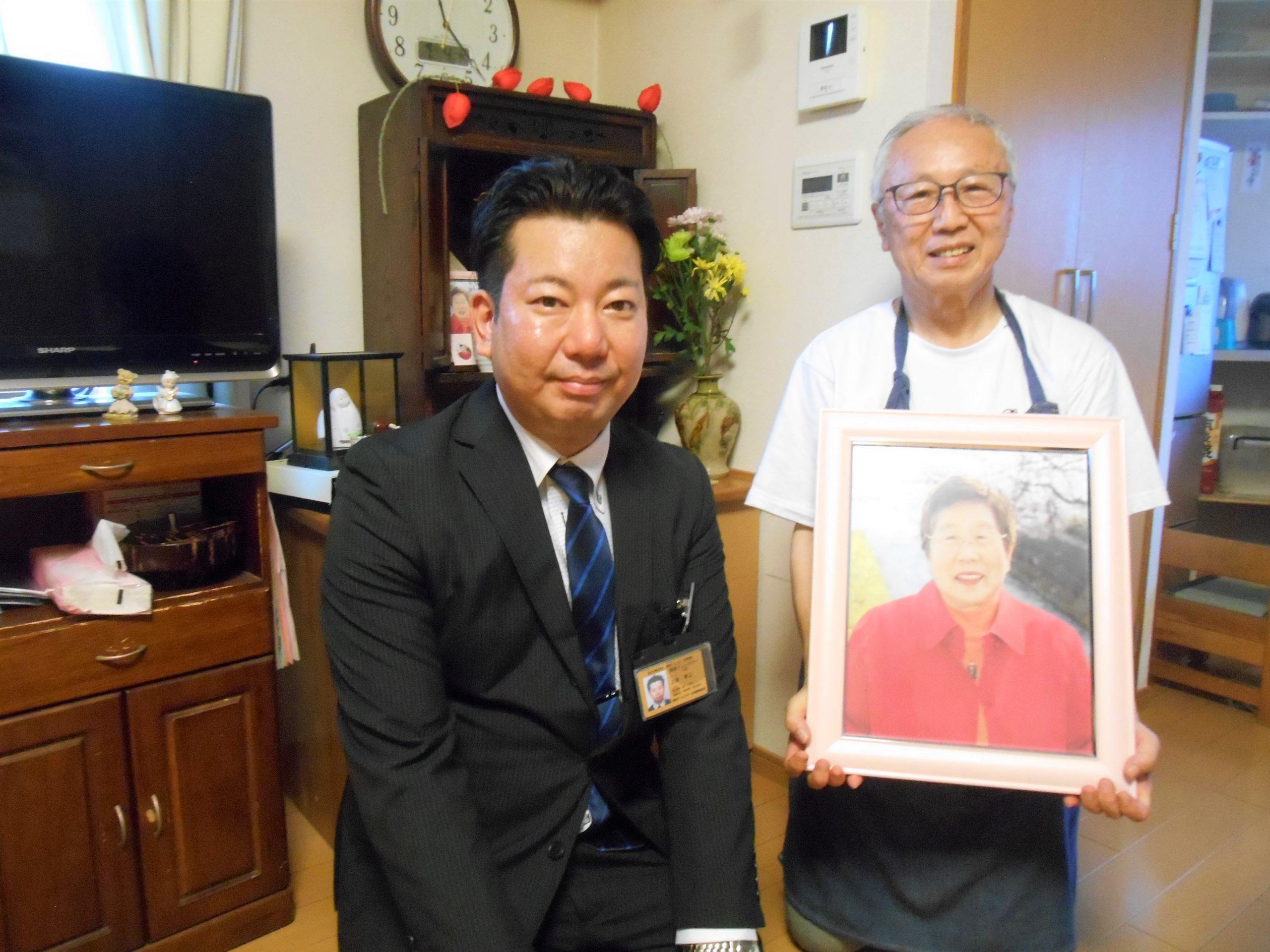 グローバルケアの葬儀をご利用いただいたお客様からの声:須田様