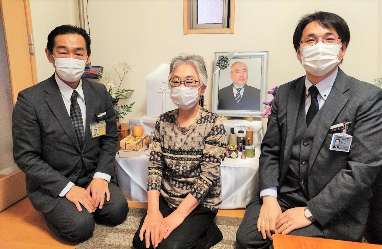 グローバルケアの葬儀をご利用いただいたお客様からの声:池田様